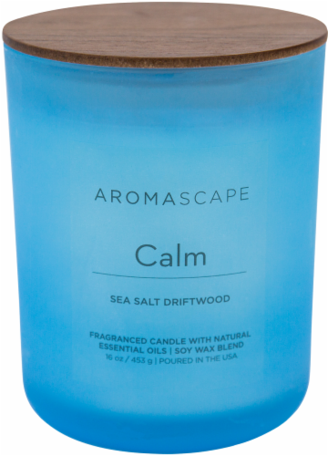 Pacific Trade Aromascape Calm 2-Wick Jar Candle Perspective: front