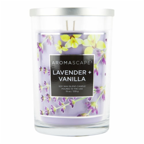 Chesapeake Bay Lavender Vanilla Candle Perspective: front