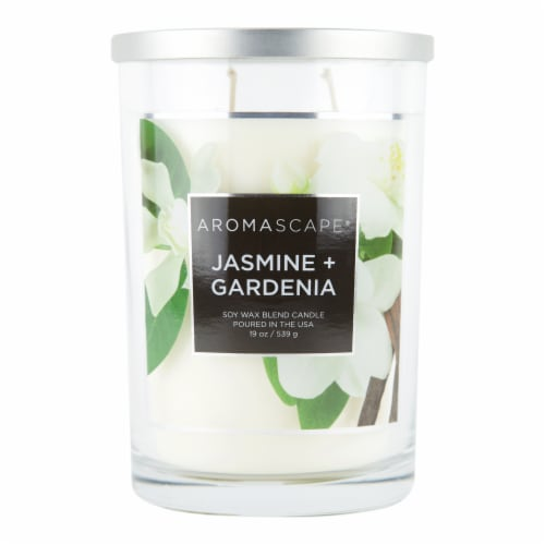Chesapeake Bay Candle Aromascape Jasmine + Gardenia Soy Candle Perspective: front