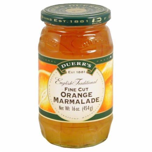 Duerr's Fine Cut Orange Marmalade Perspective: front