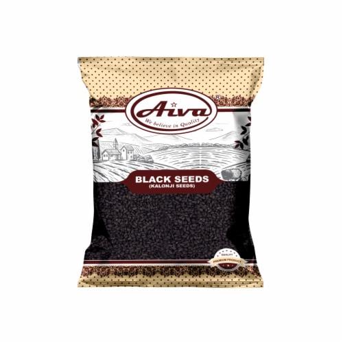 Kalonji Seeds (Nigella Sativa or Black Seed) Perspective: front