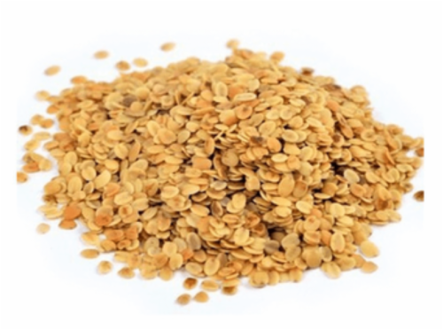 Roasted Coriander Seeds (Dhana Dal) Perspective: front
