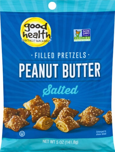Good Health Natural Foods Peanut Butter Filled Pretzels Perspective: front