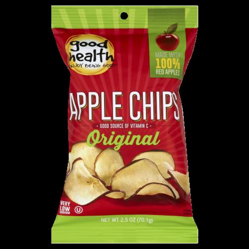 Good Health Crispy Original Apple Chips Perspective: front