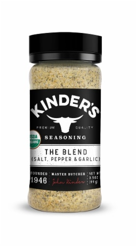 Kinder's Organic The Blend Seasoning Perspective: front