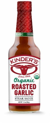 Kinder's Organic Roasted Garlic Steak Sauce Perspective: front