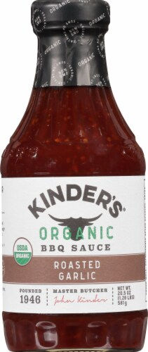 Kinder's Organic Roasted Garlic Bbq Sauce Perspective: front