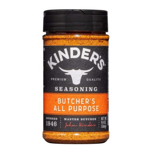 Kinder's Butcher's All Purpose Seasoning (9.4 Ounce) Perspective: front