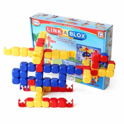 Popular Playthings PPY19200 Linka Blox - 60 Piece Perspective: front