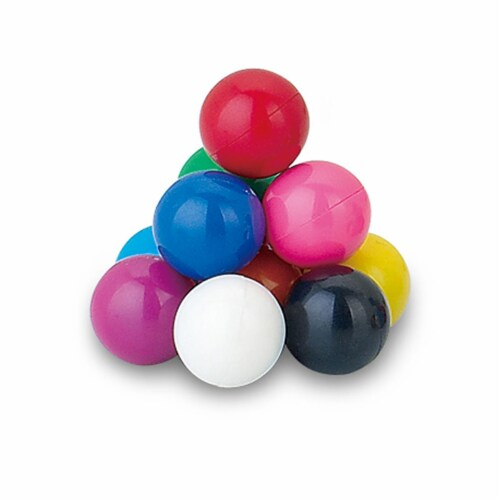 Popular Playthings 1.33 in. dia. Jumbo Magnetic Marbles Perspective: front
