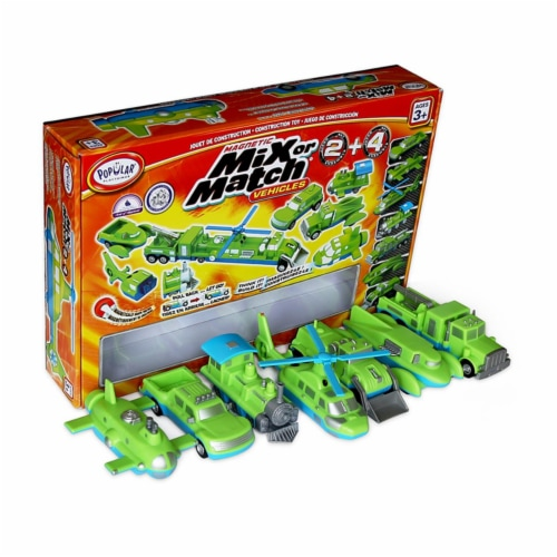 Popular Playthings PPY60312 Mix or Match Vehicles 2 & 4 Perspective: front