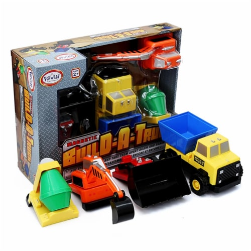 Popular Playthings PPY60401 Build A Truck - Grade 3 Perspective: front