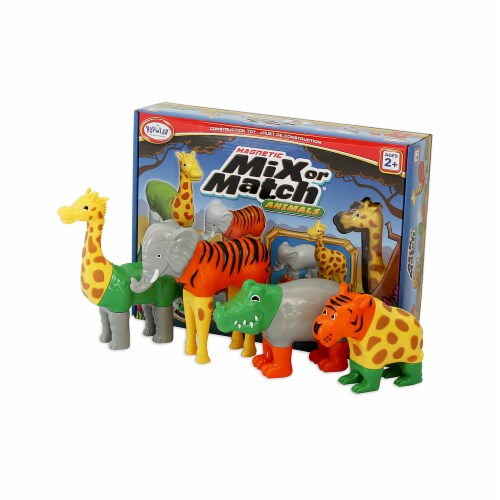 Popular Playthings PPY62000 Magnetic Mix or Match Animals Perspective: front