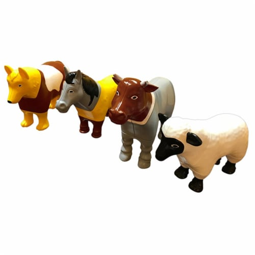 Popular Playthings PPY62001 Magnetic Mix or Match Farm Animals Perspective: front