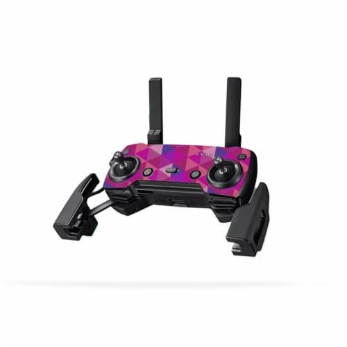 MightySkins DJMAVAICO-Pink Kaleidoscope Controller Skin for DJI Mavic Air Drone, Pink Kaleido Perspective: front