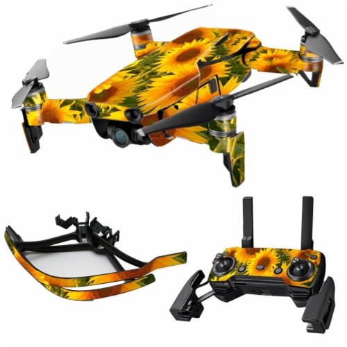 MightySkins DJMAVAI-Sunflowers Skin for DJI Max Coverage, Sunflowers Perspective: front