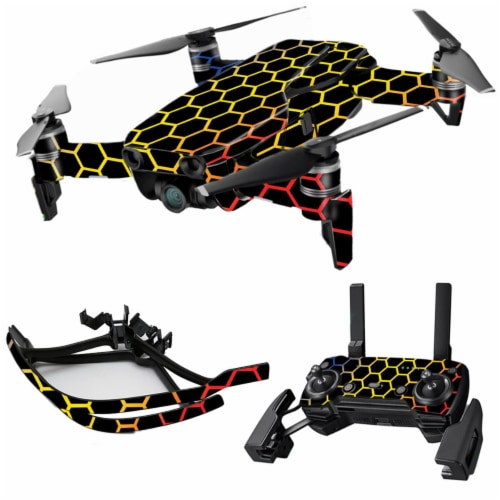 MightySkins DJMAVAI-Primary Honeycomb Skin for DJI Max Coverage, Primary Honeycomb Perspective: front