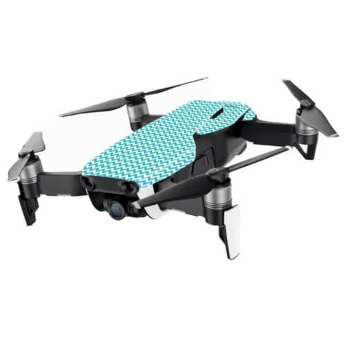 MightySkins DJMAVAIMIN-Turquoise Chevron Skin for DJI Mavic Air Drone, Turquoise Chevron Perspective: front