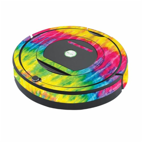 MightySkins IRRO770MIN-Tie Dye 2 Skin for Irobot Roomba 770 Robot Vacuum - Tie Dye 2 Perspective: front