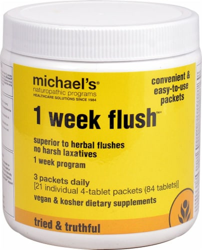 Michael's Naturopathic Programs  1 Week Flush™ Perspective: front