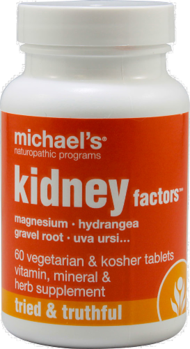 Michael's Naturopathic Programs Kidney Factors Fluid Balance & Detoxification Support Perspective: front
