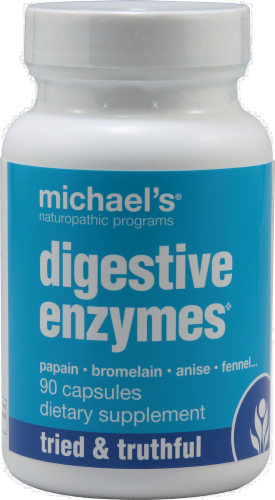 Michael's Naturopathic Digestive Enzymes Perspective: front