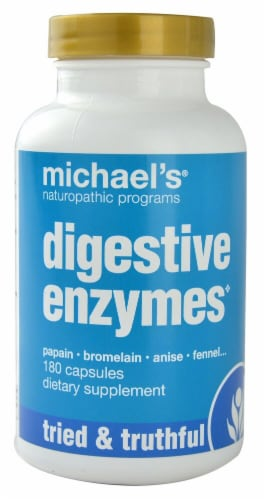 Michael's Naturopathic Programs  Digestive Enzymes Perspective: front