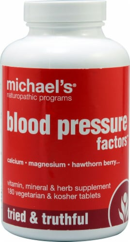 Michael's Naturopathic Programs  Blood Pressure Factors™ Perspective: front