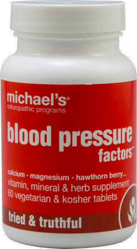 Michael's Naturopathic Programs Blood Pressure Factors Perspective: front
