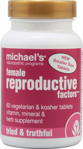 Michael's Naturopathic Programs  Female Reproductive Factors™ Perspective: front