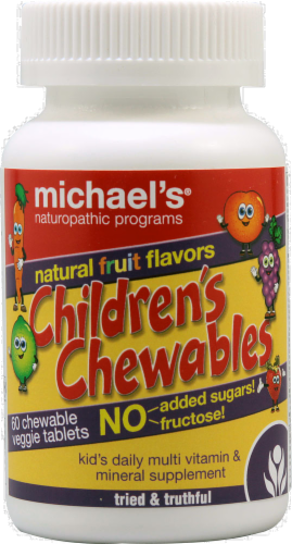 Michael's Naturopathic Programs Children's Chewable Perspective: front