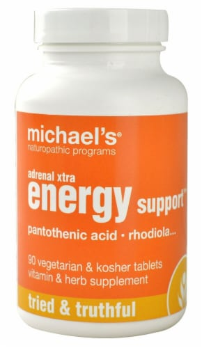 Michael's Naturopathic Programs  Adrenal Xtra Energy Support™ Perspective: front