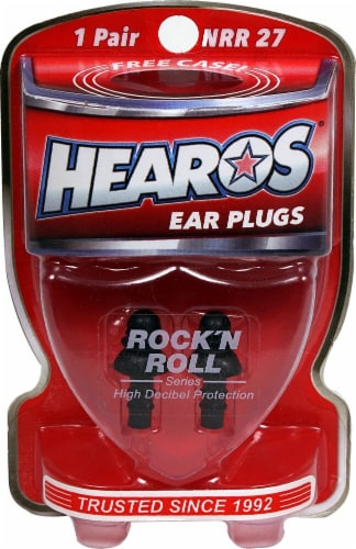Hearos  Ear Plugs Rock'N Roll Series Perspective: front