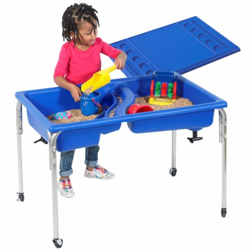 Children's Factory Neptune Sand & Water Table - Regular Height  - 24 Perspective: front