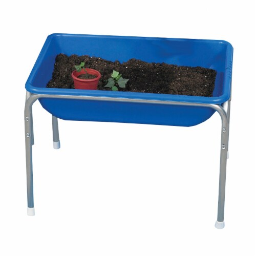 Children's Factory Small Sensory Table - Blue Perspective: front