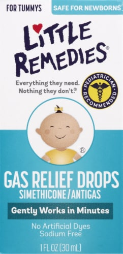 Little Remedies Berry Flavor Gas Relief Drops Perspective: front