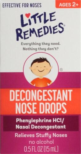 Little Noses Decongestant Nose Drops Perspective: front