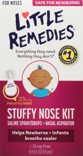 Little Remedies Stuffy Nose Kit Perspective: front