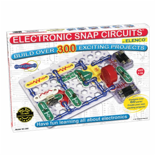 Elenco Snap Circuits Perspective: front