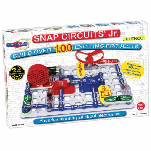 Elenco Snap Circuits Jr. Perspective: front