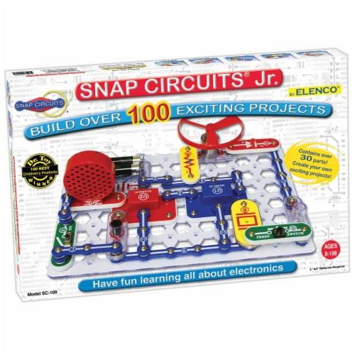 Elenco Snap Circuits Jr. Perspective: front