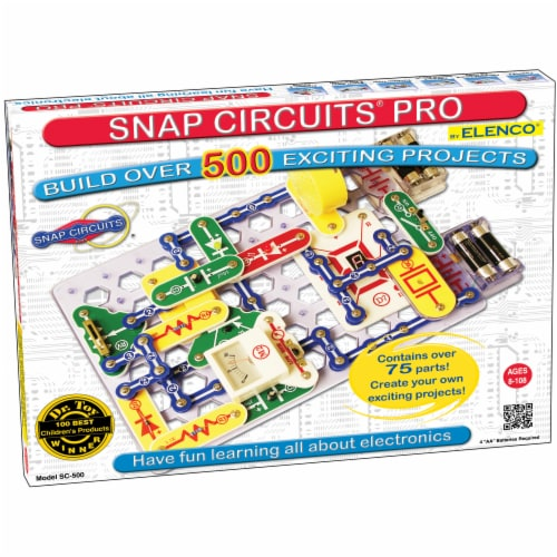Elenco Snap Circuits Pro Perspective: front