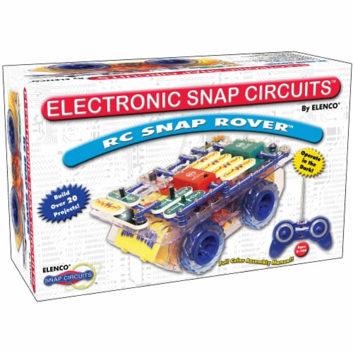 Elenco Snap Circuits Snap Rover Perspective: front