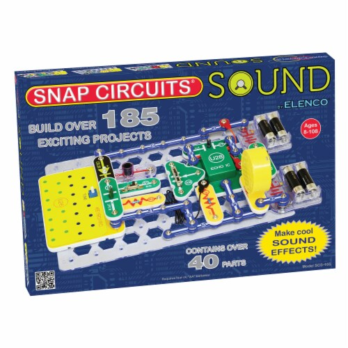 Elenco Snap Circuits Sound Perspective: front