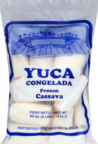 La Nuestra Frozen Cassava Perspective: front