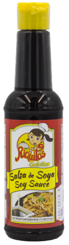 Riquitas Soy Sauce Perspective: front
