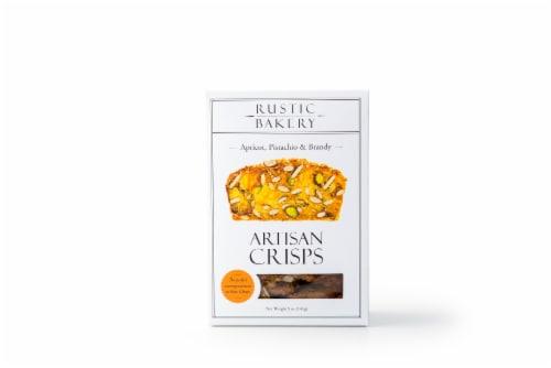Rustic Bakery Apricot Pistachio & Brandy Artisan Crisps Perspective: front