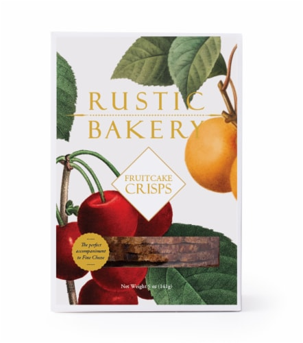Rustic Bakery Fruit Cake Crisps Perspective: front