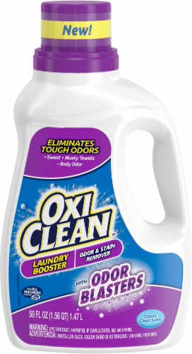 OxiClean Odor Blasters Classic Clean Scent Odor & Stain Remover Laundry Booster Perspective: front