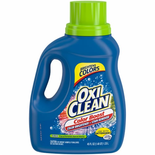 OxiClean Triple Power Free Stain Fighter Laundry Detergent Perspective: front